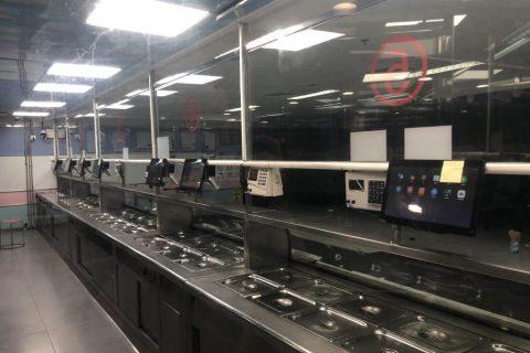 平安银行深圳分行时代金融中心员工食堂室内消防工程